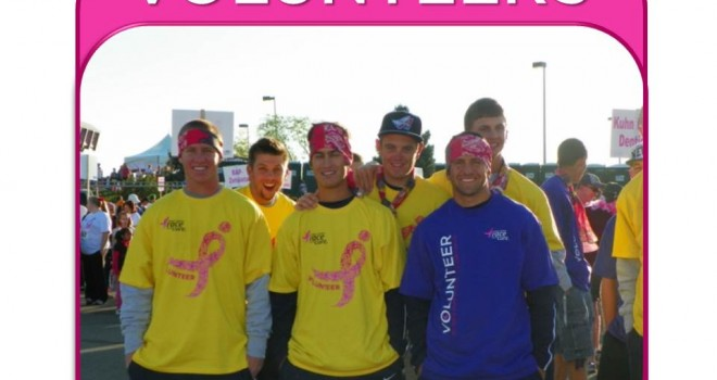 Calling all VOLUNTEERS for Race For The Cure 2013!!