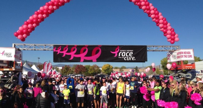 2013 Race for the Cure Race Results