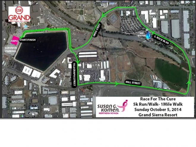race map 2014